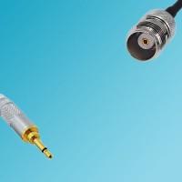 3.5mm Mono Male Plug to TNC Female RF Cable RG58 1ft