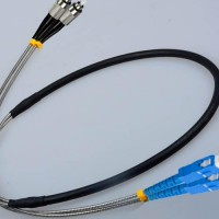Indoor/Outdoor 2 Fiber FC SC Patch Cable 9/125 Singlemode