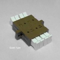 MU Quad Adapter Singlemode & Multimode