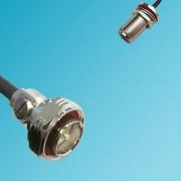 7/16 DIN Male to N Bulkhead Female RF Cable