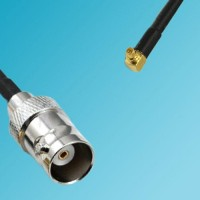 BNC Female to RP MMCX Male Right Angle RF Cable