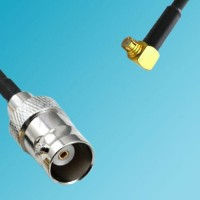 BNC Female to SMP Female Right Angle RF Cable