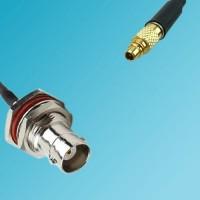 BNC Bulkhead Female to MMCX Male RF Cable