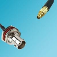 BNC Bulkhead Female to RP MMCX Male RF Cable