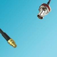 BNC Bulkhead Female to SMP Female RF Cable