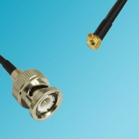 BNC Male to RP MMCX Male Right Angle RF Cable