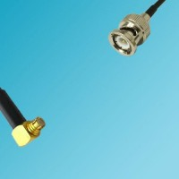 BNC Male to SMP Female Right Angle RF Cable
