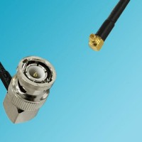 BNC Male Right Angle to RP MMCX Male Right Angle RF Cable