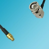 BNC Male Right Angle to SMP Female RF Cable