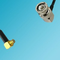 BNC Male Right Angle to SMP Female Right Angle RF Cable