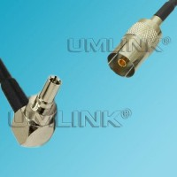 CRC9 Male Right Angle to DVB-T TV Female RF Coaxial Cable