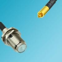 F Bulkhead Female to MC-Card Male RF Cable