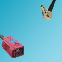 FAKRA SMB L Female to CRC9 Male Right Angle RF Cable