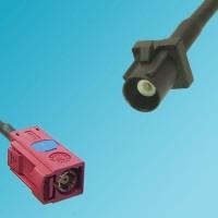 FAKRA SMB L Female to FAKRA SMB A Male RF Cable