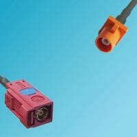 FAKRA SMB L Female to FAKRA SMB M Male RF Cable