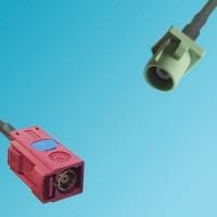 FAKRA SMB L Female to FAKRA SMB N Male RF Cable