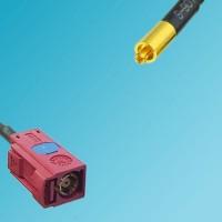 FAKRA SMB L Female to MC-Card Male RF Cable