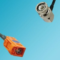 FAKRA SMB M Female to BNC Male Right Angle RF Cable