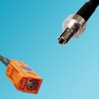 FAKRA SMB M Female to CRC9 Male RF Cable