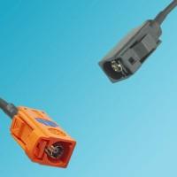 FAKRA SMB M Female to FAKRA SMB A Female RF Cable