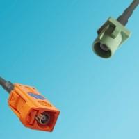 FAKRA SMB M Female to FAKRA SMB N Male RF Cable