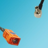 FAKRA SMB M Female to TS9 Male Right Angle RF Cable