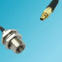 FME Bulkhead Male to RP MMCX Male RF Cable