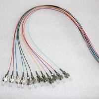 12 Strand FC/UPC Color Coded Pigtails 9/125 OS2 Singlemode