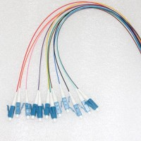 12 Strand LC/UPC Color Coded Pigtails 9/125 OS2 Singlemode