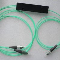 1X2 FC to FC FBT Splitter 50/125 OM3 Multimode