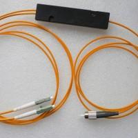 1X2 FC to LC FBT Splitter 50/125 OM2 Multimode