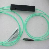 1X2 FC to SC FBT Splitter 50/125 OM3 Multimode