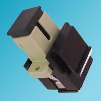 Black Keystone Jack SC Multimode Simplex Beige