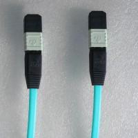 12 Fiber MPO MPO 50/125 OM3 Multimode Patch Cable