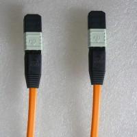 12 Fiber MPO MPO 50/125 OM2 Multimode Patch Cable