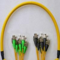 12 Fiber FC/APC FC/UPC 9/125 OS2 Singlemode Patch Cable