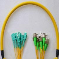 12 Fiber FC/APC SC/UPC 9/125 OS2 Singlemode Patch Cable