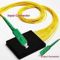 1x16 SC/APC to SC/APC PLC Splitter ABS Cassette