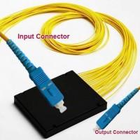1x16 SC/UPC to SC/UPC PLC Splitter ABS Cassette