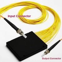 1x16 ST/UPC to ST/UPC PLC Splitter ABS Cassette