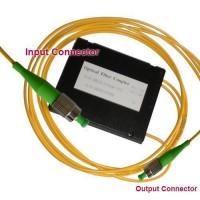 1x2 FC/APC to FC/APC PLC Splitter ABS Cassette