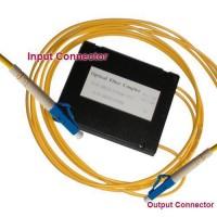 1x2 LC/UPC to LC/UPC PLC Splitter ABS Cassette