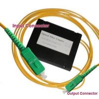 1x2 SC/APC to SC/APC PLC Splitter ABS Cassette