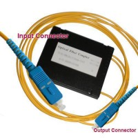 1x2 SC/UPC to SC/UPC PLC Splitter ABS Cassette