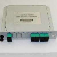 1x4 SC/APC to SC/APC LGX PLC Splitter