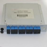 1x8 SC/UPC to SC/UPC LGX PLC Splitter