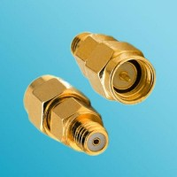 10-32 M5 Female to SMA Male RF Adapter