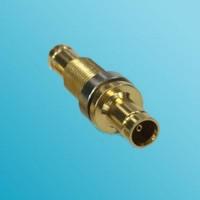 Bulkhead 1.0/2.3 DIN Female to 1.0/2.3 DIN Female RF Adapter