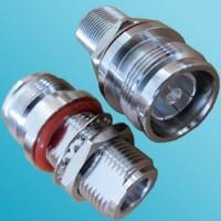 4.3/10 Mini DIN Female to N Bulkhead Female RF Adapter