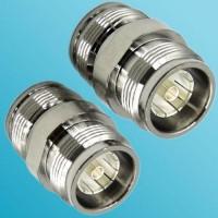 4.3/10 Mini DIN Female to 4.3/10 Mini DIN Female RF Adapter